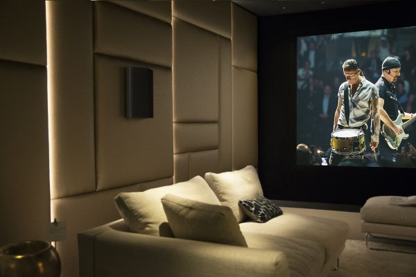 akoestiek cinema domotica